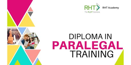 DIPLOMA IN PARALEGAL TRAINING tickets