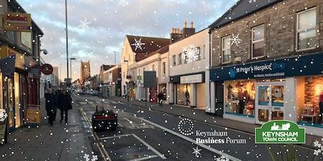Keynsham Business Forum - Christmas Social & Public Realm High Street presentation tickets