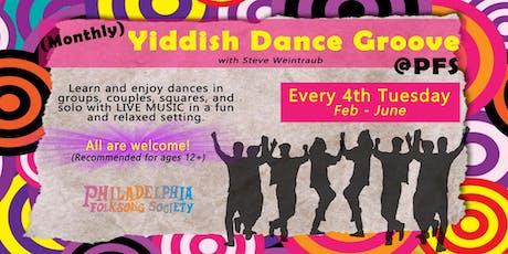 January Yiddish Dance Groove @PFS tickets