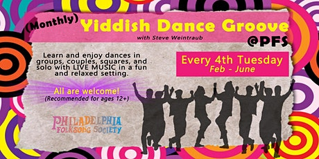 January Yiddish Dance Groove @PFS tickets