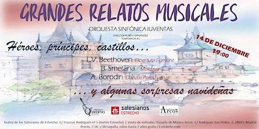 Concierto Grandes Relatos Musicales