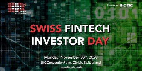 Swiss Fintech Investor Day 2020 tickets