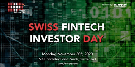 Swiss Fintech Investor Day 2020 Tickets