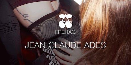 Jean Claude Ades Tickets