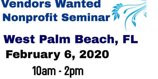 Vendors Wanted West Palm Beach, FL