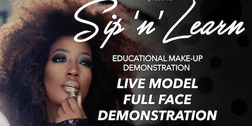"Sip N See ""Make Up Class"" Deposit $75 total price $175"