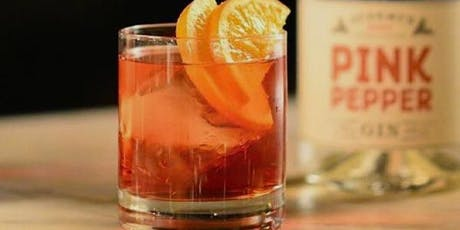 Tipple Tasting Dinner - Pink Pepper Gin tickets