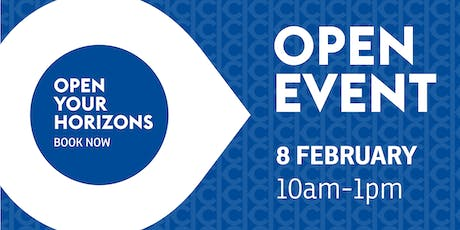 Keighley College Open Event - Saturday 8th February 2020  tickets