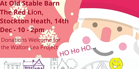 Visit Santa's in his Grotto & Write a Letter. Free event &Gift for a child tickets