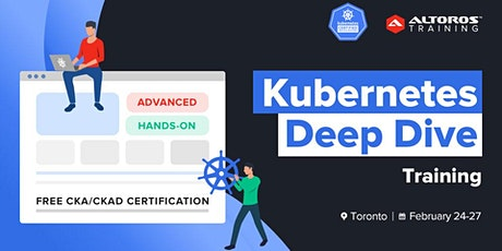 [TRAINING] Kubernetes Deep Dive: Toronto tickets