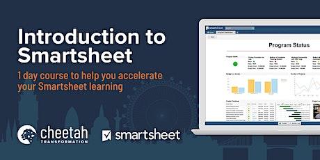 Smartsheet - An introduction to Smartsheet (1 day) tickets