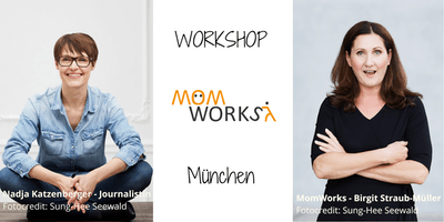 """MomWorks Workshop: Schreib's einfach auf - Level 2 - """"Text-Wash"""". Mit Nadja Katzenberger."""