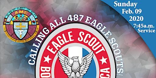 Troop 487 Eagle Scout Reunion Sunday