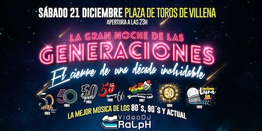 La noche de las generaciones con Los Happys en Villena