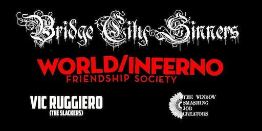 The Bridge City Sinners, World/Inferno Friendship Society and Vic Ruggerio