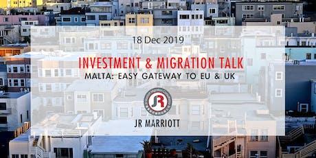 Malta: Easy Gate to EU & UK | 馬爾他: 歐洲英國通行 tickets