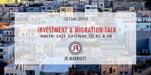 Malta: Easy Gate to EU & UK | 馬爾他: 歐洲英國通行