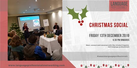 Language Professionals' Networking Event - December 2019 tickets