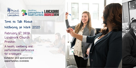 'Time To Talk About Wellbeing At Work' 2020 Conference tickets