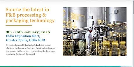 Indusfood-Tech 2020 tickets