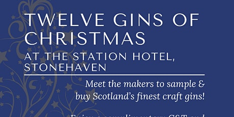 The 12 Gins of Christmas tickets