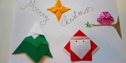 Kids - Christmas origami workshop