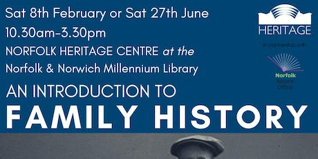 Family History Course  - A One Day Introduction tickets