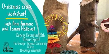 Christmas craft workshop tickets