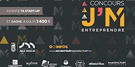 Finale du Concours J'M ENTREPRENDRE 2020 billets