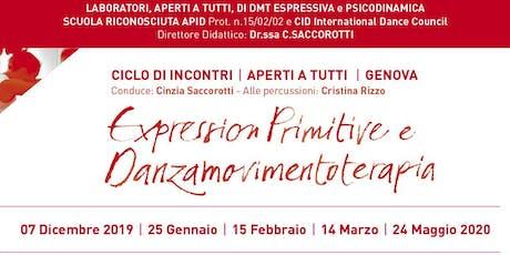 Incontri Expression Primitive e Danzamovimentoterapia biglietti