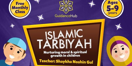 Children's Tarbiyah Class - (Sat 7th Dec 2019 | 2:15PM)