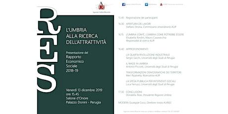 L'UMBRIA ALLA RICERCA DELL'ATTRATTIVITÀ biglietti