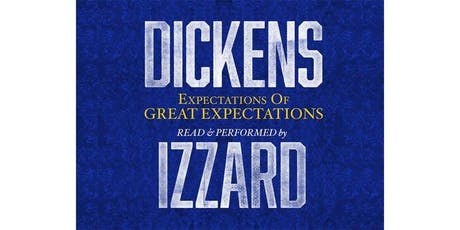 Expectations of Great Expectations – One-Man Show Starring Eddie Izzard tickets