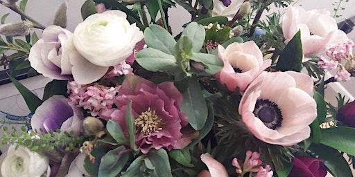 Spring British Flowers Handtied Bouquet Workshop