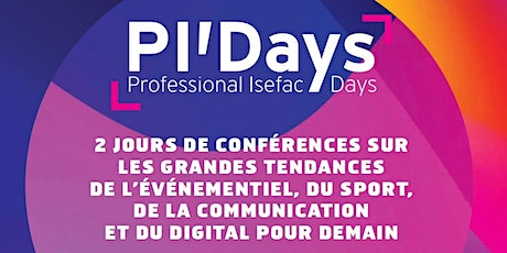 Save the Date: Professional ISEFAC Days de Nantes billets