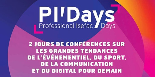 Save the Date: Professional ISEFAC Days de Lyon