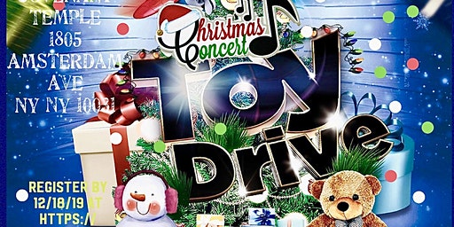 """This Christmas"" Concert/ Toy Drive"