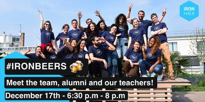 #IRONBEERS | MEET THE STUDENTS, TEACHERS AND THE TEAM!