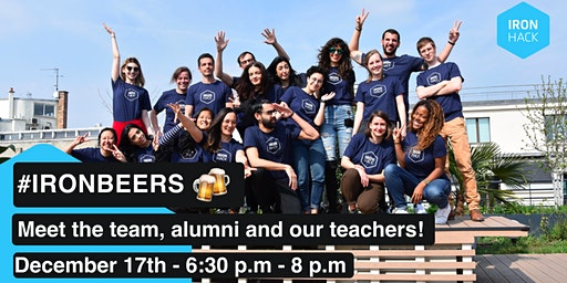 #IRONBEERS   MEET THE STUDENTS, TEACHERS AND THE TEAM!