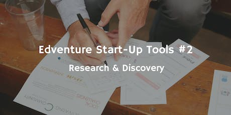 Start-Up Tools #2 - Research & Discovery tickets