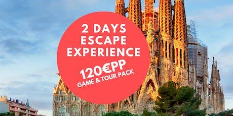 Weekend Escape Hunt Barcelona tickets