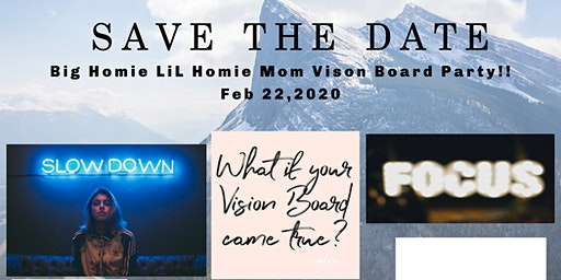 Vision Board Party Moms Edition
