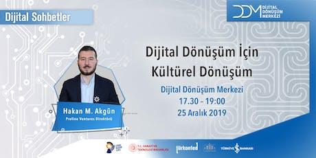DDM Dijital Sohbetler: Dijital Dönüşüm için Kültürel Dönüşüm tickets