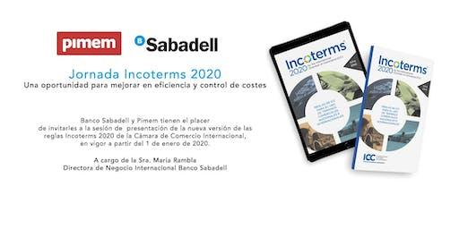 Jornada Incoterms 2020:  Mejorar en eficiencia y control de costes
