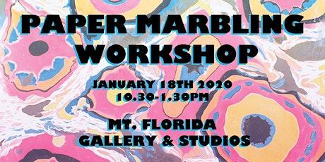 Marbling Workshop tickets