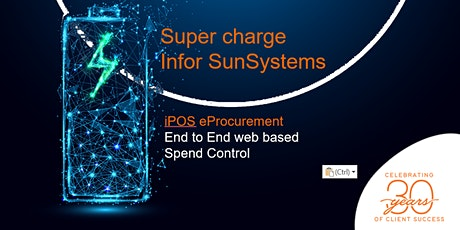 Supercharge Infor SunSystems: iPOS eProcurement tickets