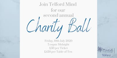 2020 Charity Ball in aid of Telford Mind at Telford Hotel And Golf Resort