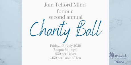 2020 Charity Ball in aid of Telford Mind at Telford Hotel And Golf Resort tickets