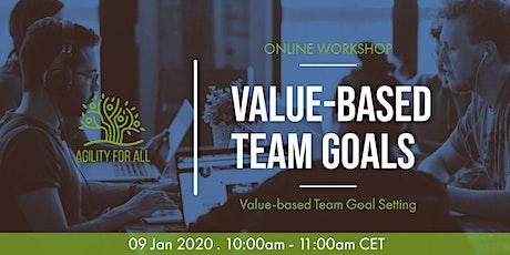 Value-Based Team Goals - Online Workshop tickets