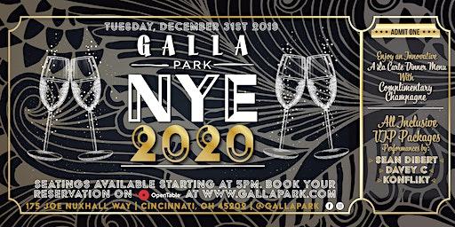 NYE 2020 @ Galla Park
